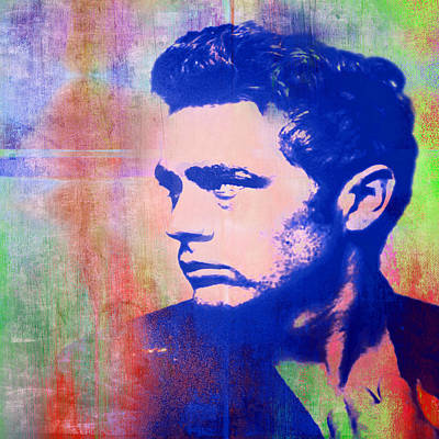 James Dean Poster by Catherine Arnas