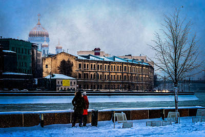 January Afternoon Poster by Alexander Senin