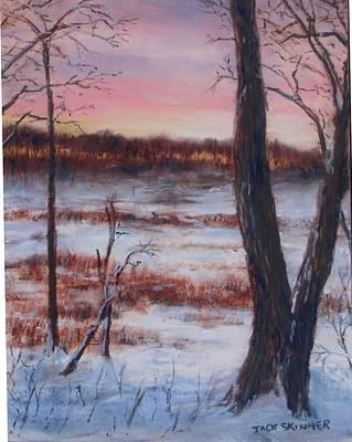 January Sunrise Poster by Jack Skinner