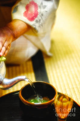 Japanese Tea Ceremony Poster by David Hill