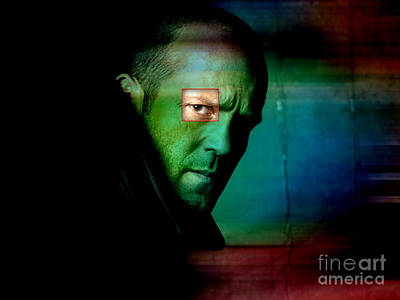 Jason Statham Poster by Marvin Blaine