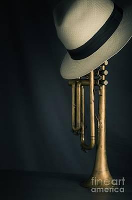 Jazz Trumpet Poster by Carlos Caetano