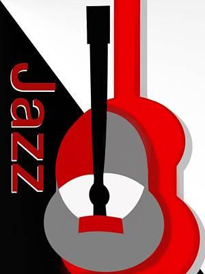 Jazz Vibe Poster by Christine Fournier