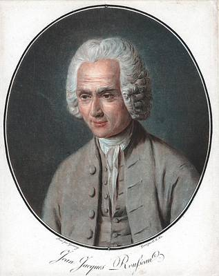 Jean-jacques Rousseau Poster by Universal History Archive/uig