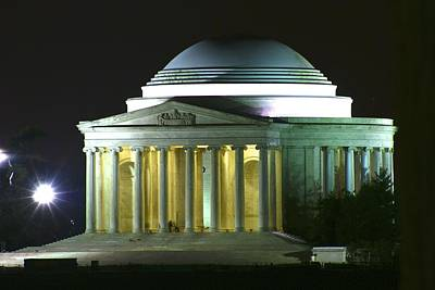Jefferson Memorial Poster by Andrew Johnson