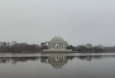 Jefferson Memorial - Washington Dc - 01136 Poster by DC Photographer