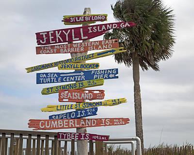 Jekyll Island Where To Go Poster by Betsy C Knapp