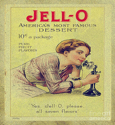 Jello Poster by Cheryl Young