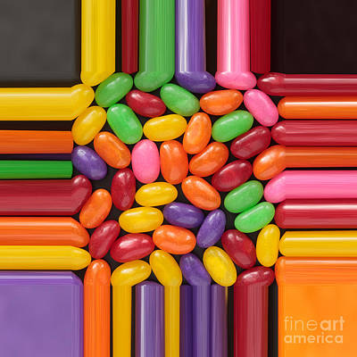 Jelly Beans Stretch  Poster by Igor Kislev