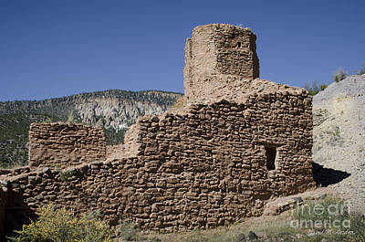 Jemez State Monument Ruins Poster by David Gordon