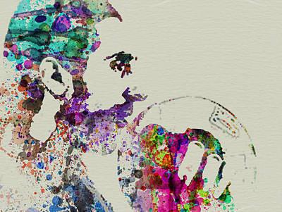 Jesus Big Lebowski Poster by Naxart Studio