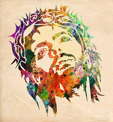 Jesus Christ 3 Poster by Mark Ashkenazi
