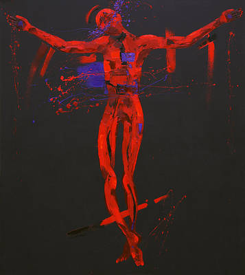 Jesus Dies On The Cross Station 12 Poster by Penny Warden