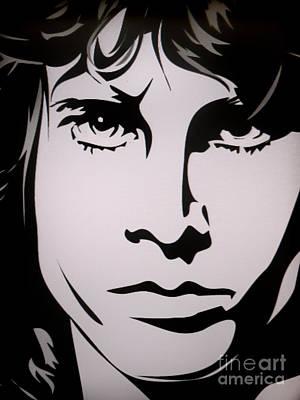 Jim Morrison  Poster by Ryszard Sleczka