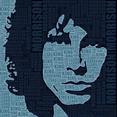 Jim Morrison The Doors Poster by Tony Rubino