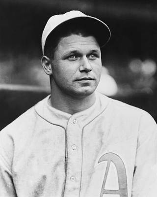 Jimmie Foxx Close Up Photo Poster by Retro Images Archive