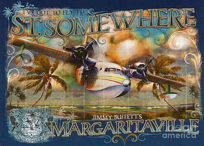 Jimmy Buffett's Hemisphere Dancer Poster by Desiderata Gallery