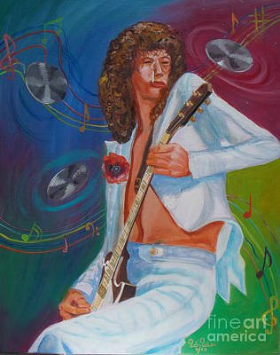 Jimmy Page 2 Poster by To-Tam Gerwe