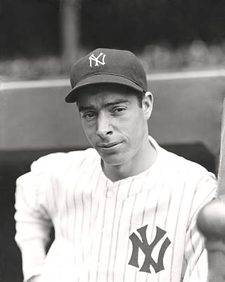 Joe Dimaggio Hand On Hip Poster by Retro Images Archive
