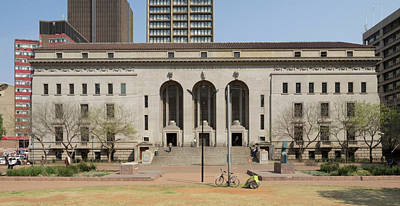 Johannesburg City Library, Beyers Naude Poster by Panoramic Images