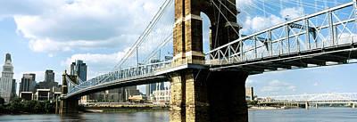 John A. Roebling Suspension Bridge Poster by Panoramic Images