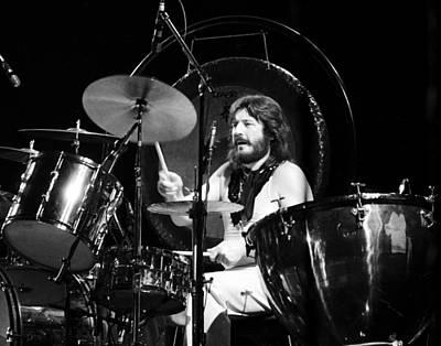 John Bonham 1977 Led Zeppelin Poster by Chris Walter