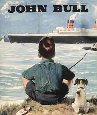 John Bull 1946 1940s Uk Nautical Poster by The Advertising Archives