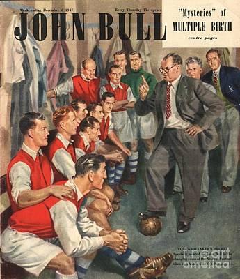 John Bull 1947 1940s Uk  Arsenal Poster by The Advertising Archives