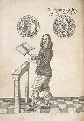 John Lilburne Poster by British Library