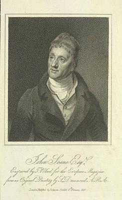John Soane Poster by British Library