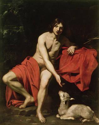 John The Baptist  Poster by Nicholas Renieri