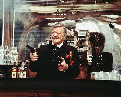 John Wayne In The Shootist Poster by Silver Screen