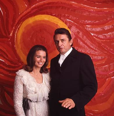 Johnny Cash And June Carter Cash Poster by Retro Images Archive