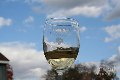 Jones Winery Glass.01 Poster by John Turek