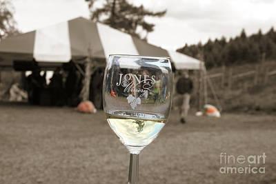 Jones Winery Glass.02 Poster by John Turek