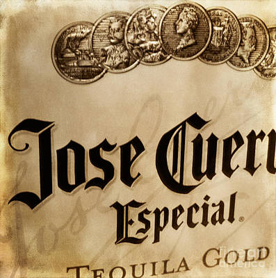 Jose Gold Poster by Kelley Freel-Ebner