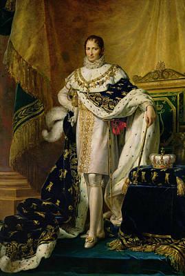 Joseph Bonaparte 1768-1844 After 1808 Oil On Canvas Poster by Francois Pascal Simon, Baron Gerard