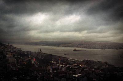 jour de pluie a Istanbul II Poster by Taylan Soyturk