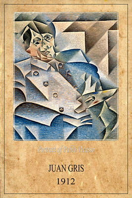 Juan Gris 1 Poster by Andrew Fare