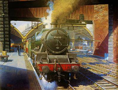Jubilee 4.6.0 At Liverpool Lime Street. Poster by Mike  Jeffries
