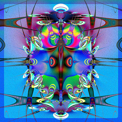 Juggler Poster by Kiki Art