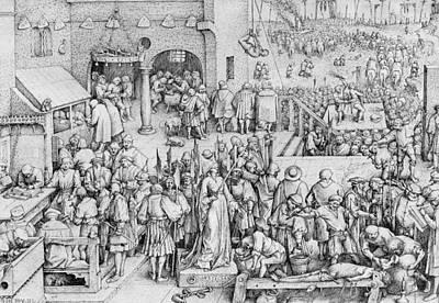 Justice Poster by Pieter the Elder Bruegel