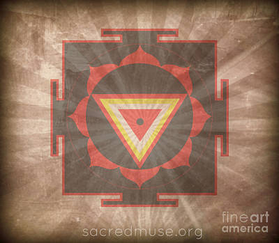 Kali Yantra Poster by Sacred  Muse
