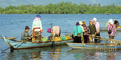 Kampot River Poster by Rick Piper Photography