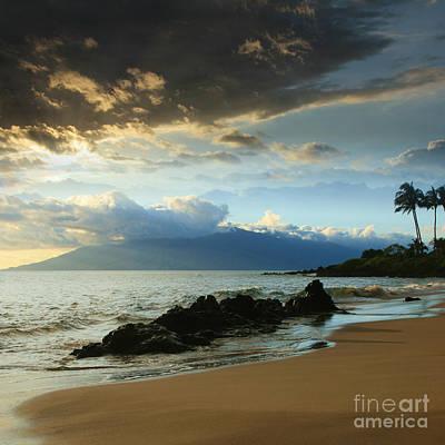 Kanoelani Heavenly Mist Poster by Sharon Mau