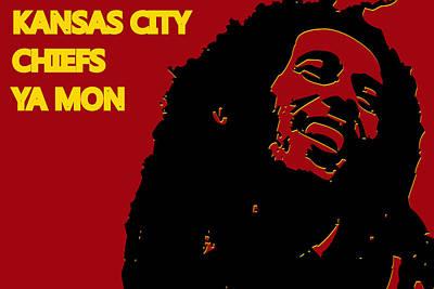 Kansas City Chiefs Ya Mon Poster by Joe Hamilton