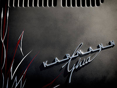 Karmann Black Poster by Douglas Pittman