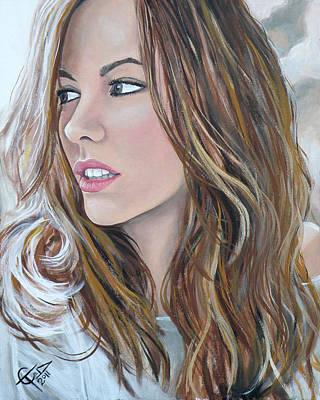 Kate Beckinsale Poster by Tom Carlton