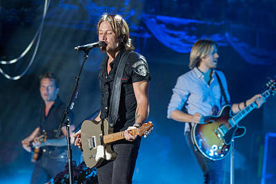 Keith Urban 2 Poster by Mike Burgquist