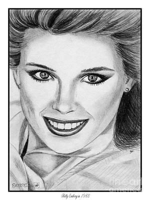 Kelly Emberg In 1983 Poster by J McCombie